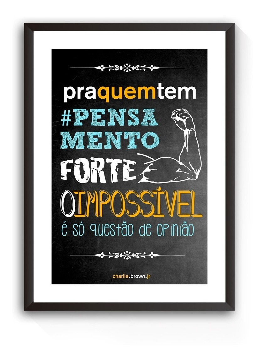 Quadro Decorativo Charlie Brown Jr Cbj Frases Música Rock