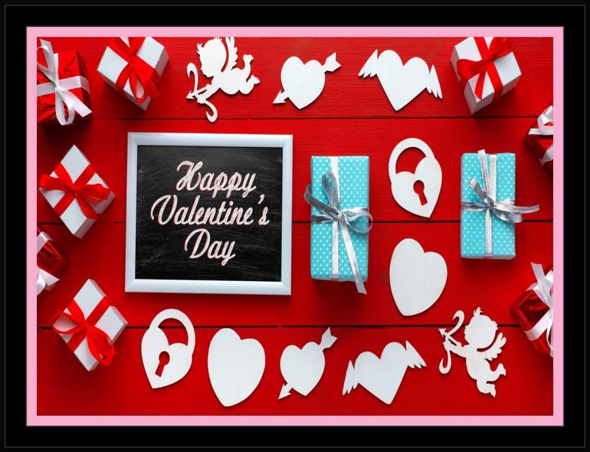 Quadro Decorativo Frases Feliz Dia Dos Namorados Quarto R711