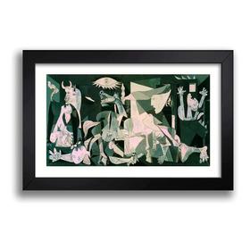 Quadro Decorativo Guernica Picasso Arte Sala Quarto Kw 118