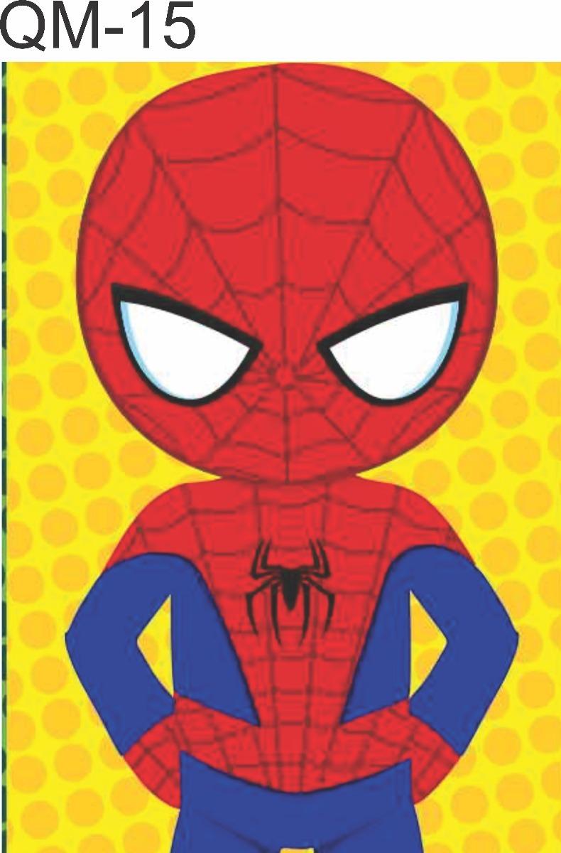 Quadro Decorativo Homem Aranha Desenho Infantil 30x22 R 13 70