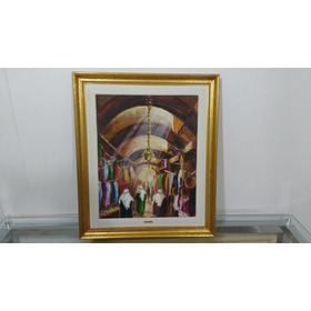 Quadro Decorativo Mercado 52x62