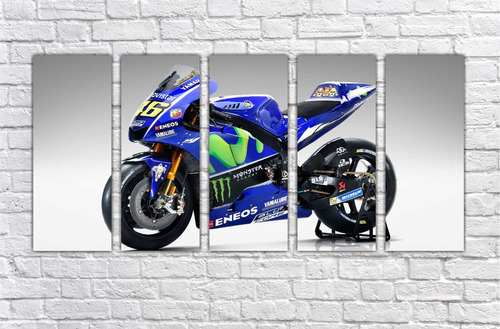 quadro decorativo moto gp motos motocicleta  gg decor