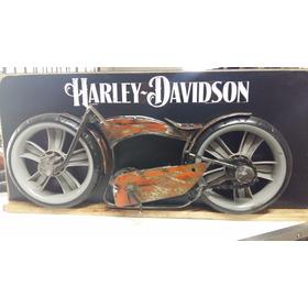 Quadro Decorativo Motos Harley Davidson