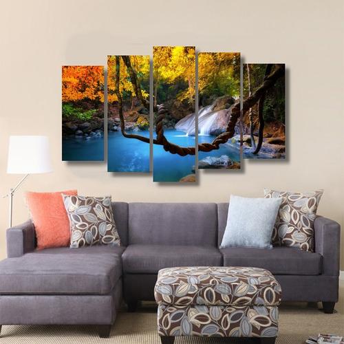 quadro decorativo natureza viva cores límpidas salas