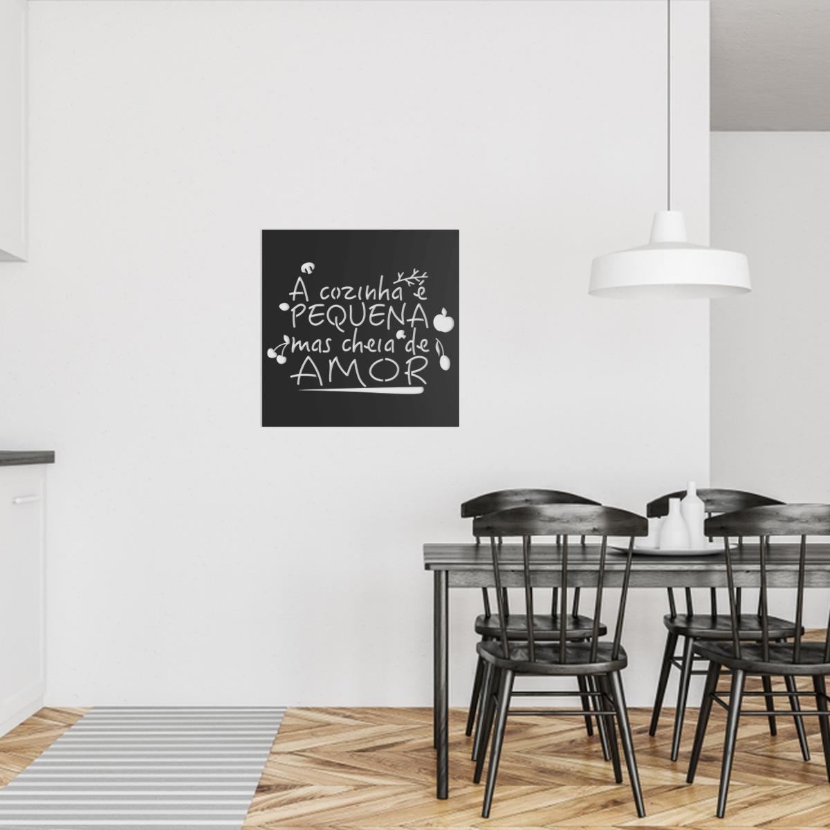9c5290144 quadro decorativo parede cozinha a cozinha é pequena 60cm. Carregando zoom.