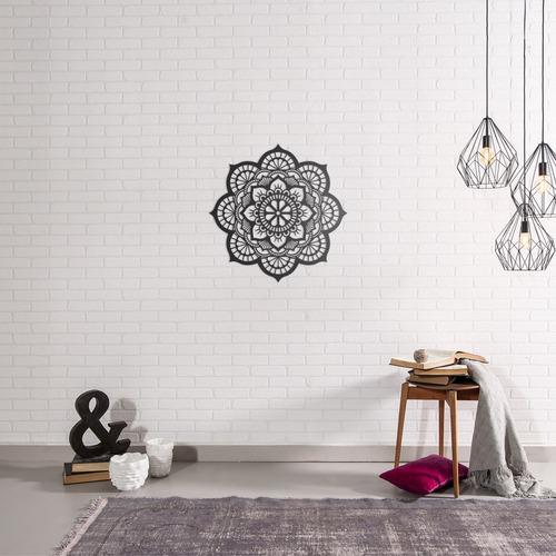 quadro decorativo parede esotérico mandala 12 60cm