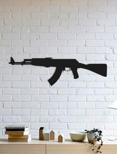 quadro decorativo parede jogos ak47 cs:go 90cm