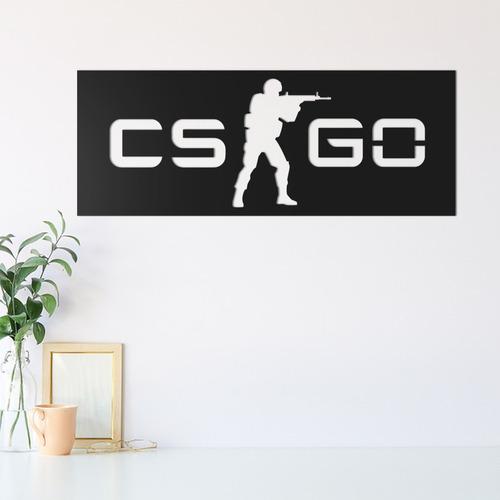 quadro decorativo parede jogos cs:go 01 30cm