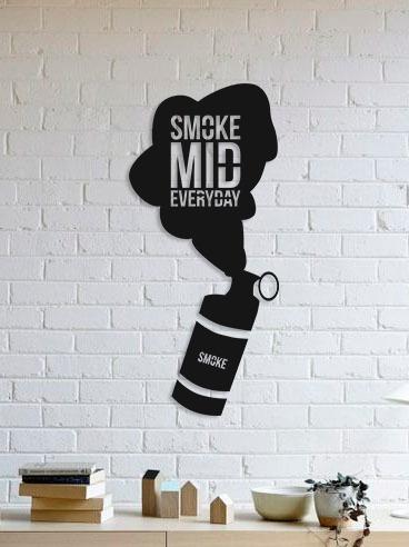 quadro decorativo parede jogos smoke mid cs:go 60cm