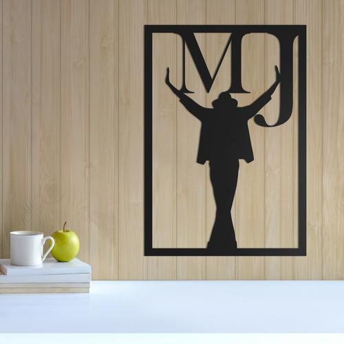 quadro decorativo parede música michael jackson 30cm
