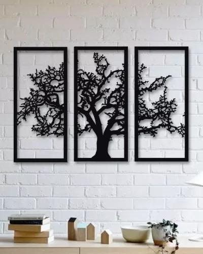 Quadro Decorativo Parede Natureza Arvore Galhos Secos 60cm R 78
