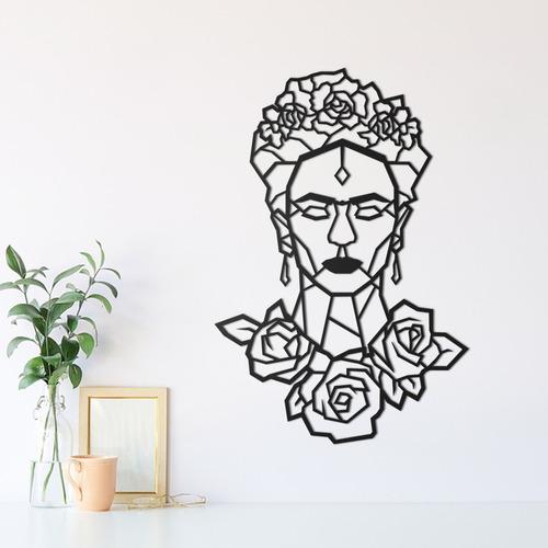 quadro decorativo parede pessoas frida kahlo 30cm