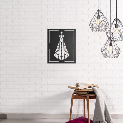quadro decorativo parede religião nossa senhora apa/ 02 60cm