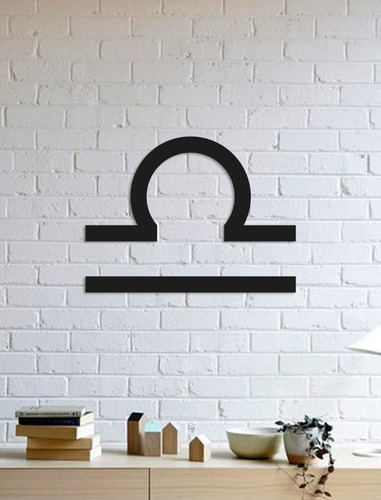 quadro decorativo parede signos libra 02 90cm