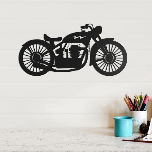 quadro decorativo parede veículos moto 03 30cm
