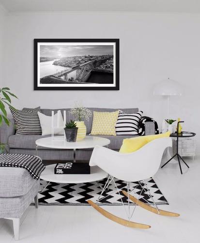 quadro decorativo porto portugal - 100x60cm
