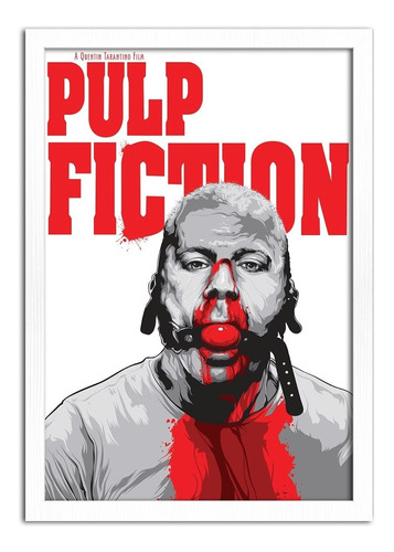 quadro decorativo poster filme cinema pulp fiction