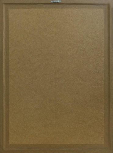 quadro decorativo poster playboy s/ vidro 44x54cm