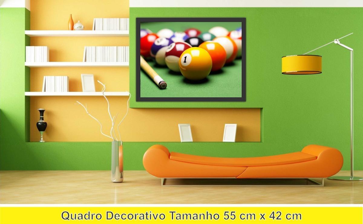 52e3a5b79 Quadro Decorativo Sala De Jogos   Quadro decorativo sinuca sala de jogos  decorar bilhar r