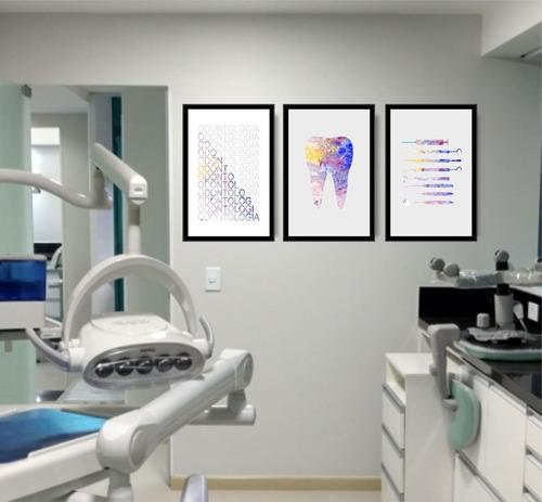 quadro dentista odontologia consultório odontológico top
