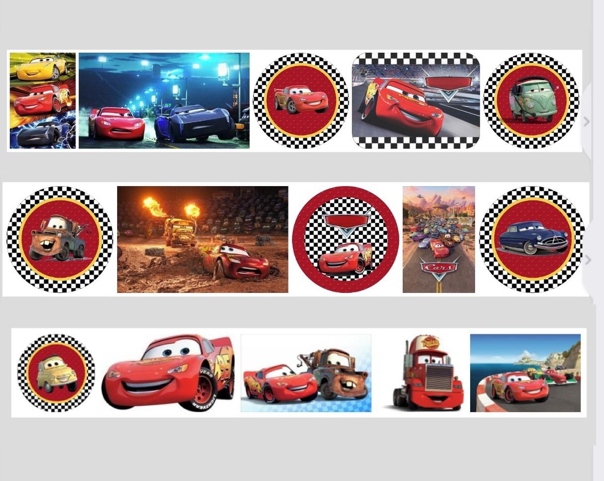 Quadro Disney Carros Mcqueen Pixar Caminhao Corrida Desenho R