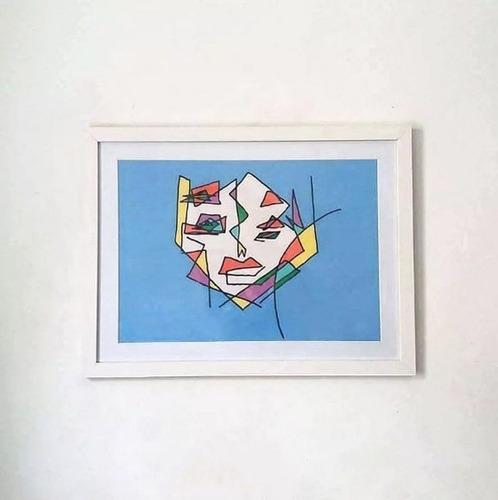 quadro do artista fabio gava - exclusividade em oferta
