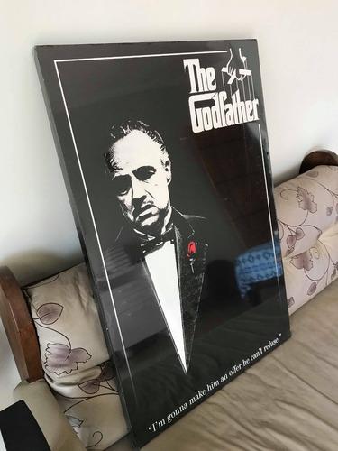 quadro don vito corleone 60x90cm