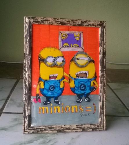 quadro dos minions friendly