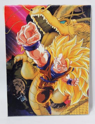quadro dragon ball z impressão em canvas