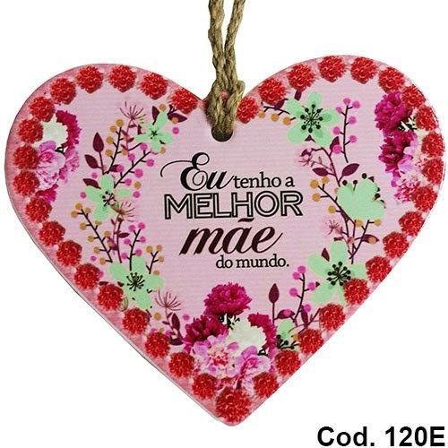 Quadro Enfeite Decorativo Dia Das Mães Melhor Do Mundo 120e R 18