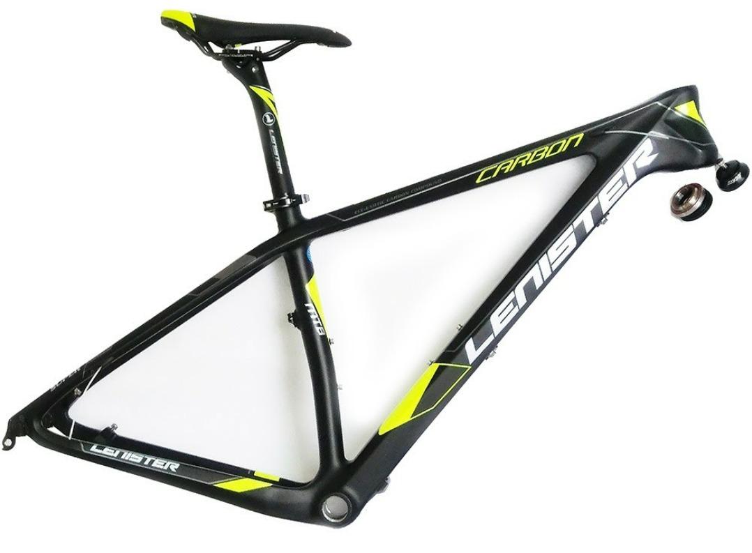 f2d15c7d5 Características. Marca Lenister  Aro 29  Idade Adultos  Tipo de bicicleta  Mountain bike  Materiais do armação Fibra de carbono ...