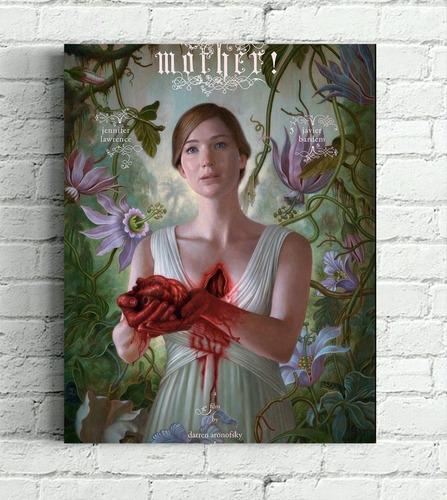 quadro filme mãe \ mother impresso em tela 30x40cm