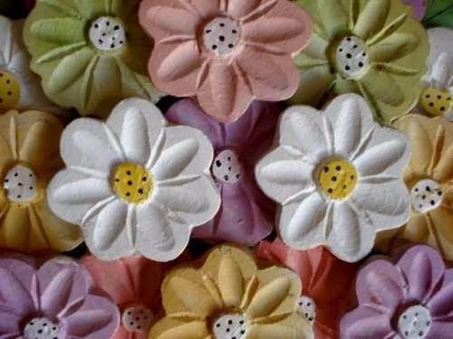 quadro flores madeira primavera (57x62)cm lindo