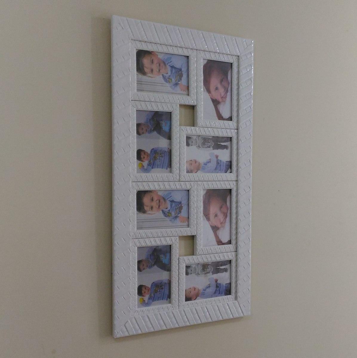 Quadro fotos porta retrato painel varias fotos moveis r - Quadro porta calamite ...