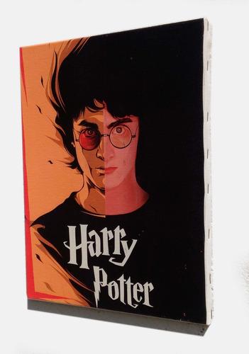 quadro harry potter em tela de pintura 30x40cm