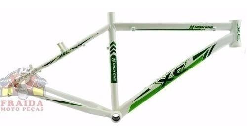 quadro high one xc 26x18 branco verde