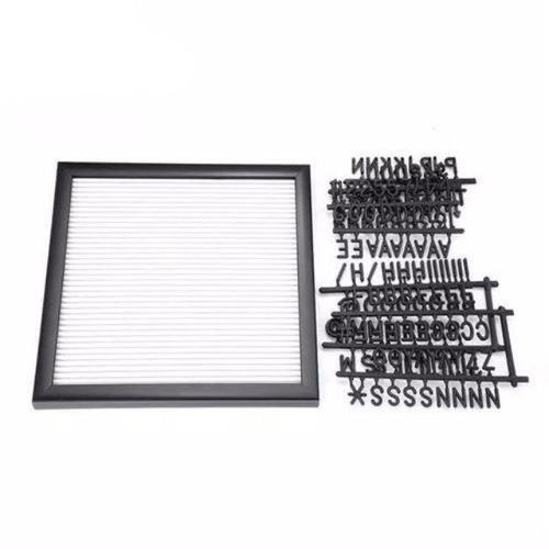 quadro letreiro decorativo recado letter board lousa manual