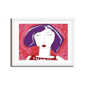 Quadro Lilica / Obra De Arte Digital - Fine Art   60x90