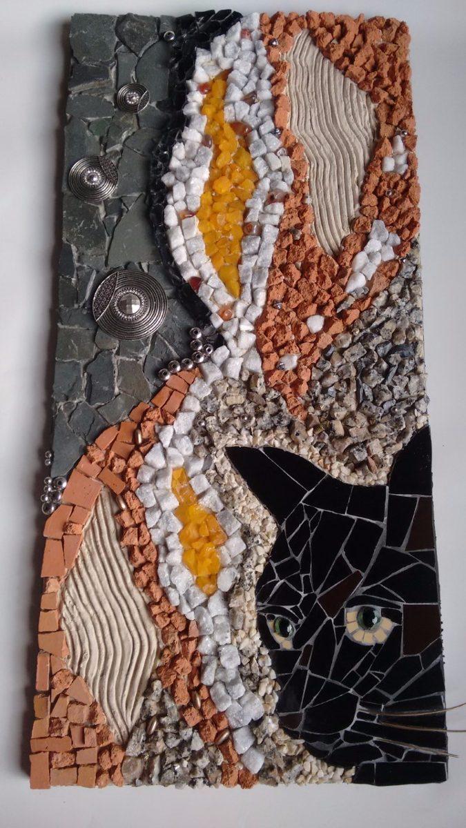 Adesivo De Francesinha Onde Comprar ~ Quadro, Mandala , Artesanato Mosaico Contemporaneo R$ 480,00 em Mercado Livre