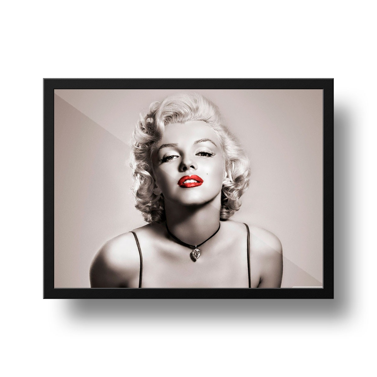 Quadro Marilyn Monroe Decoração Salão De Beleza + Brinde - R$ 49 ...