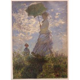 Quadro Monet - Mulher Com Guarda-sol