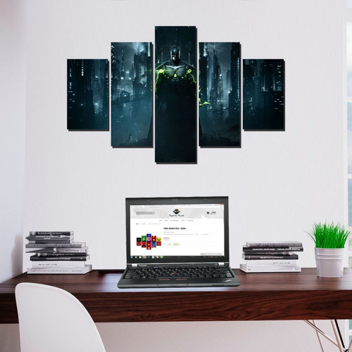quadro mosaico decorativo batman