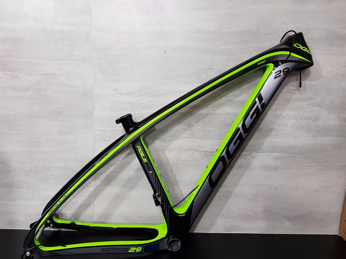 quadro mtb mountain bike oggi agile pro 29 carbono 17 r