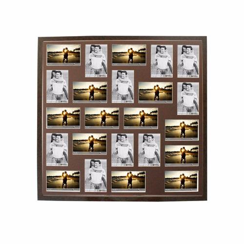 quadro multifotos painel  23 fotos 10x15 para pronta entrega