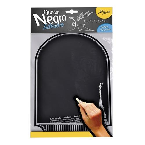 quadro negro magnetico mural de recados lousa de aviso 30x22