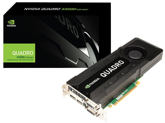 Quadro Nvidia K5000 For Mac 4gb Ddr5 256bit 1536 Cuda Cores