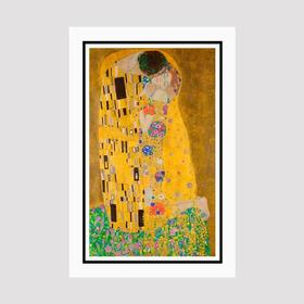 Quadro O Beijo Gustav Klimt The Kiss Decoracao Sala Quarto