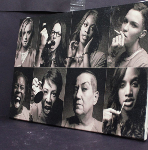 quadro orange is the new black  impressão em canvas 30x40