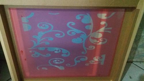quadro ou tela  silk screen  tam s grande 50x60 arte