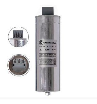 quadro painel banco capacitor 10kvar 220v - semi automático
